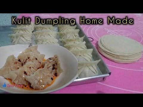 Resep Cara Membuat Kulit Dumpling Mudah