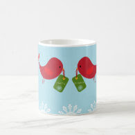Sweet Christmas Birds - Mug