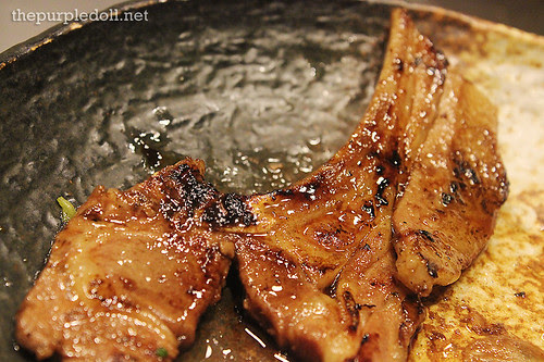 Baby Lamb Chop with Mint Jelly Sauce