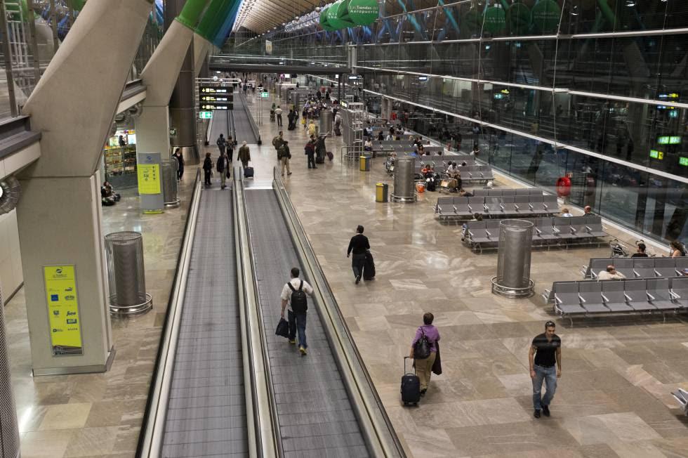 Terminal T4 aeropuerto Adolfo Suárez Madrid Barajas