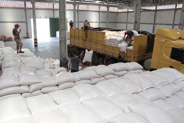 Em Natal, o armazém tem pouco mais de 445 mil quilos de milho