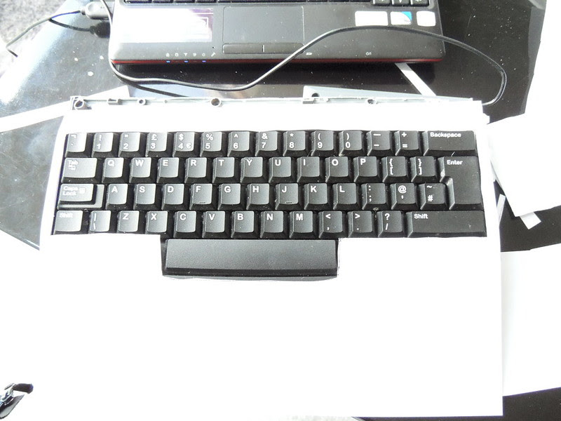 Hacking a keyboard