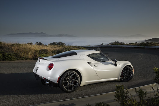 The New Alfa Romeo 4C Launch Edition Arrives Stateside This Summer