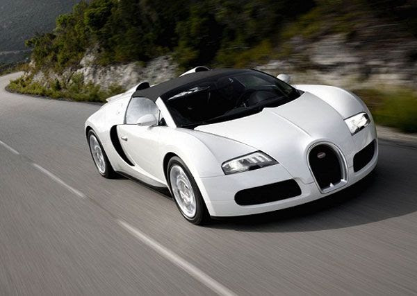 A Bugatti Veyron Grand Super Sport.