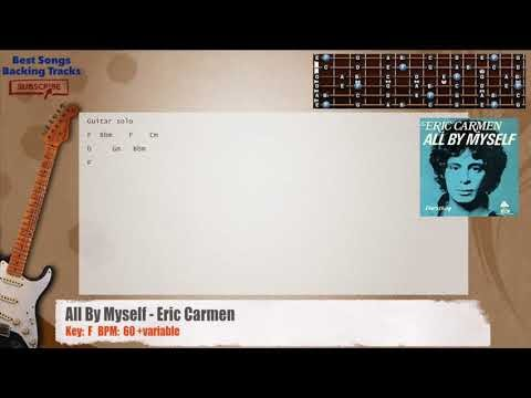Best Songs Backing Tracks BSBT: All By Myself - Eric Carmen Guitar ...