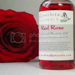 Red Rose Body Oil