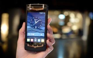 Vertu's smartphones start at around £10,000