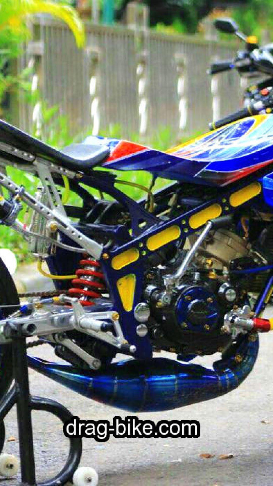 97 Gambar Motor Drag Ninja Thailand Terkeren Ranting Modifikasi