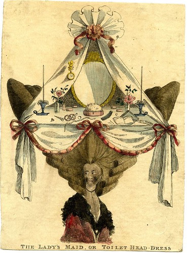 The lady's maid, or toilet head-dress 1776