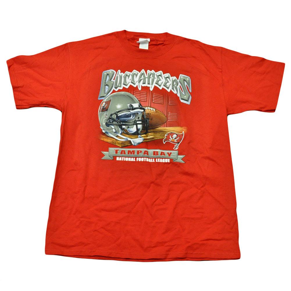 NFL Football Locker Room Licensed Tampa Bay Buccaneers Shirt Adult Tshirt Tee  eBay