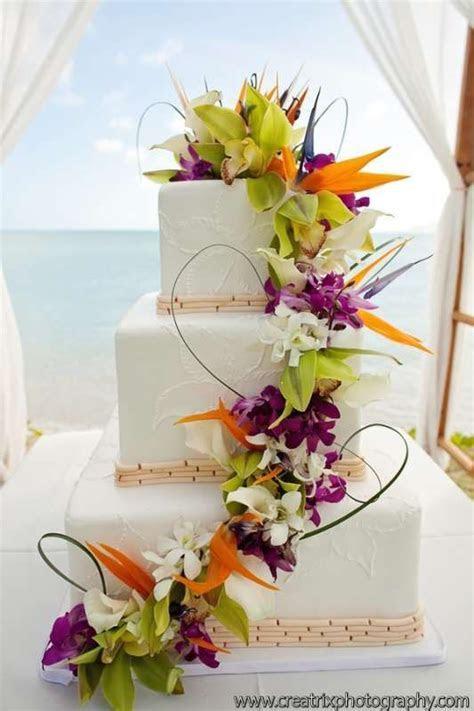 Wedding Theme   Tropical Wedding Cake #2490406   Weddbook