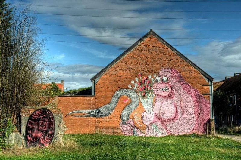 A vila condenada de Doel e sua arte de rua surpreendente 09