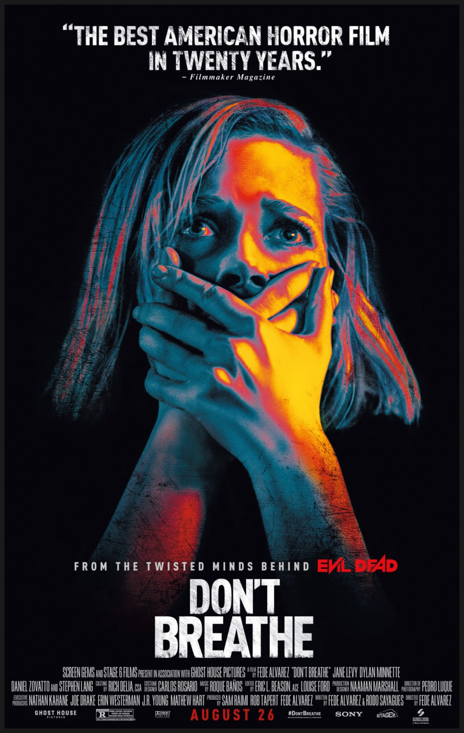 Don't Breathe (#4 of 5): Extra Large Movie Poster Image ...