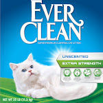 Ever Clean Extra Strength Unscented Cat Litter - 25 lb box