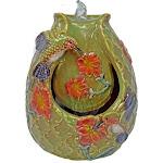 Gift Essentials GE801 Hummingbird Tabletop Ceramic Fountain