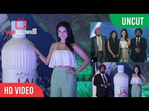 UNCUT - JAL Mineral Water LAUNCH | Sunny Leone, Mr. PS Chhatwal