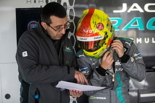 Paul Di Resta and Pietro Fittipaldi continue positive progress for Panasonic Jaguar Racing at First Marrakesh Rookie Test - Motor Sport Press | For the Latest Motor Sport News