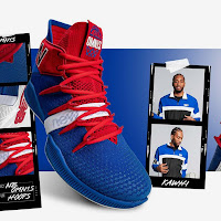 8f71a30bbecb2 New Balance Celebrates Kawhi Leonard Move With OMN1S in Clippers Colors