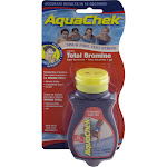 Test Strips, AquaChek Red, 4-in-1, Total Bromine, 50 ct