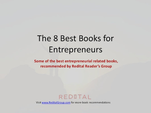The 8 Best Books for Entrepreneurs