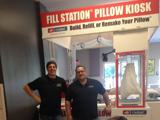 Grand Opening - Fill Station® Pillow Kiosk