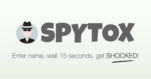 FREE Public Records Search On Any Person | SPYTOX