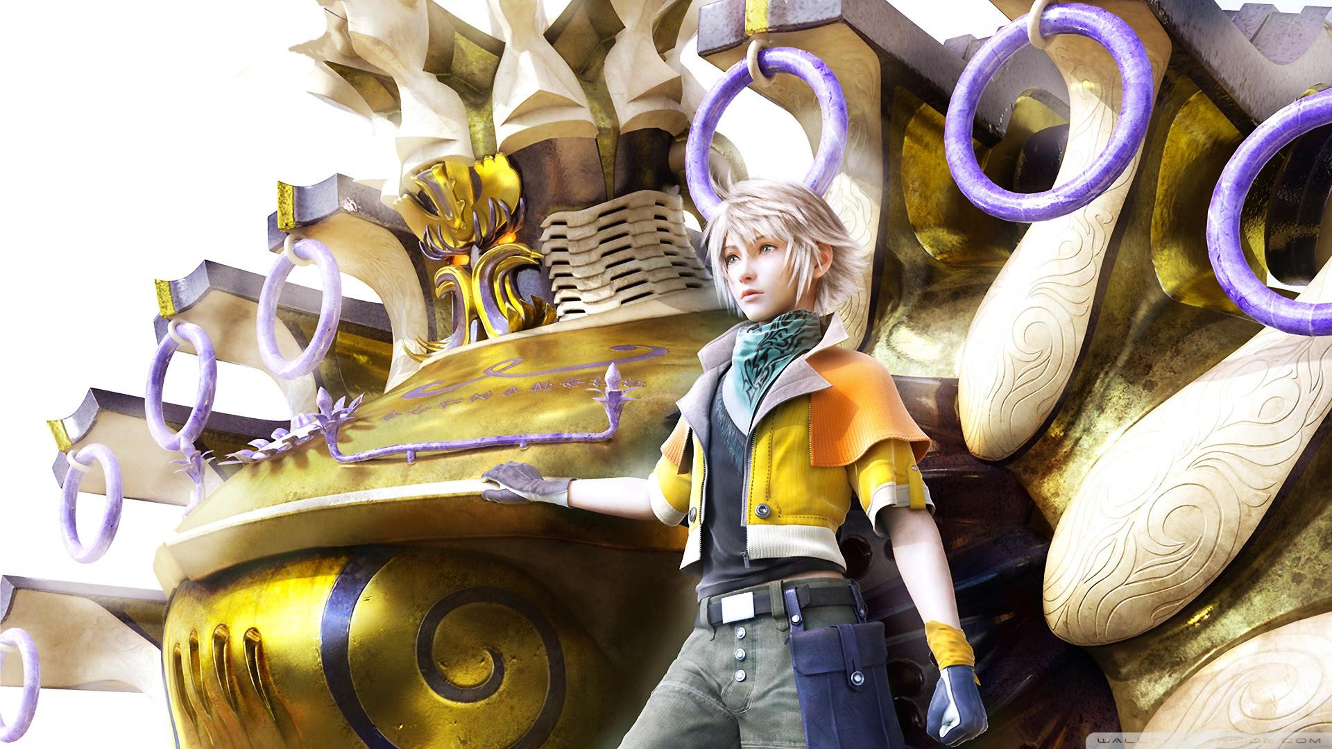Final Fantasy Xiii Hope Estheim Ultra Hd Desktop Background