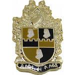 """Alpha Phi Alpha Shield Lapel Pin [Gold - 1""""]"""