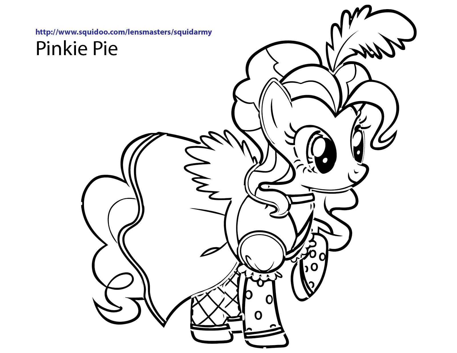 Mlp Coloring Pages Online At Getdrawingscom Free For Personal Use
