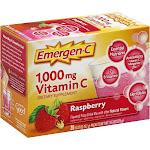 Emergen-C Raspberry Drink Mix - 30 count, 0.32 oz each