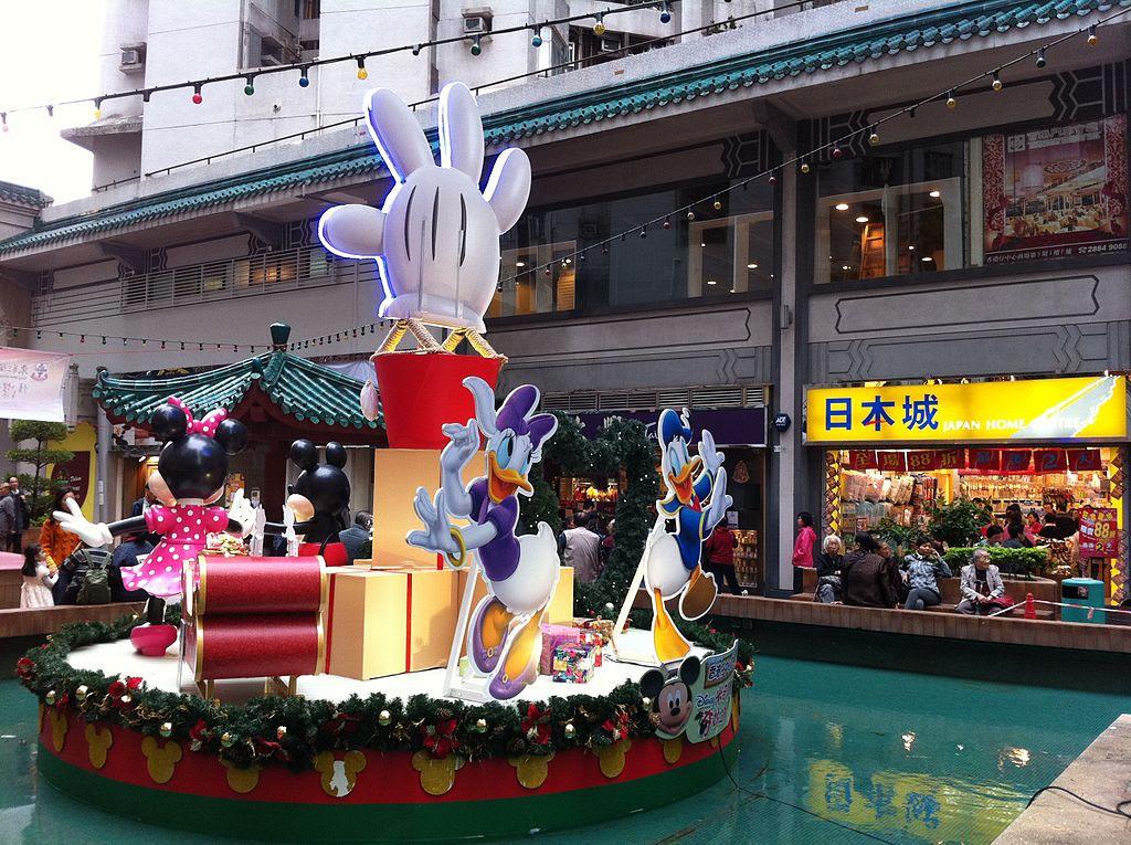 File:HK Aberdeen Centre Square fountain Disney cartoon Christmas ...