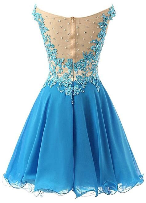 Off The Shoulder Cute 2018 Homecoming Dress Lace Beads