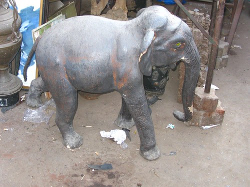 After Madam Left Unceremoniously Nobody Buys Elephants at Chor Bazar by firoze shakir photographerno1