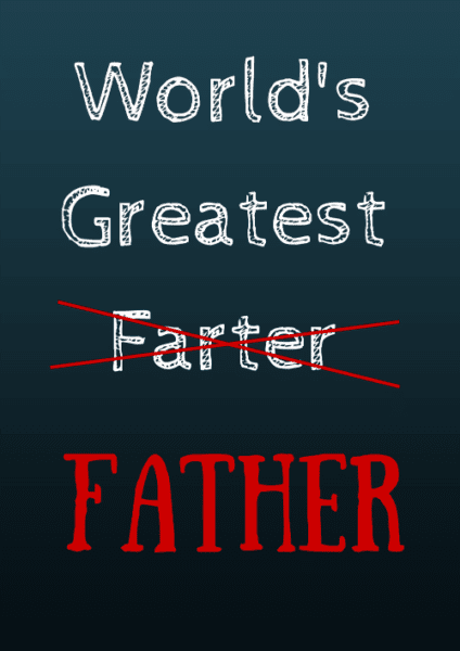 Funny Fathers Day Gift Ideas Worlds Best Farter I Mean Father Tee