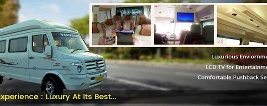 Affordable Package for Luxury Tempo Traveller on Rent in Delhi NCR