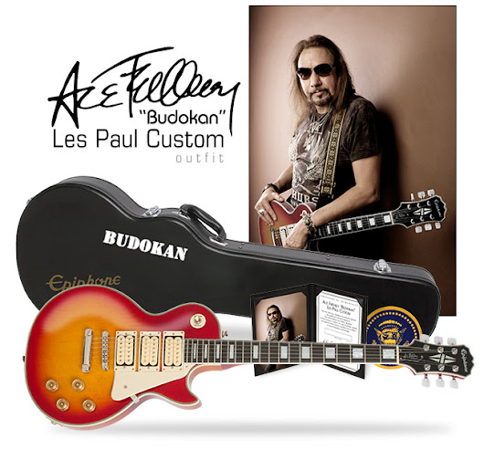 "The Ace Frehley ""Budokan"" Les Paul Custom Outfit"