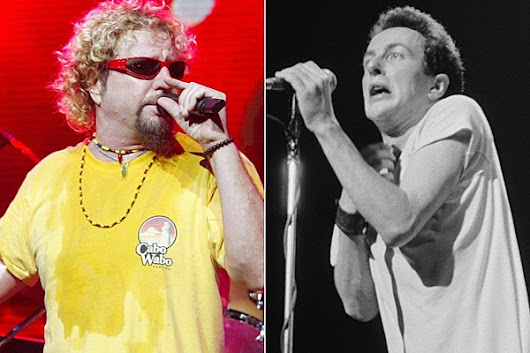 How Sammy Hagar Inspired the Clash's 'Safe European Home'