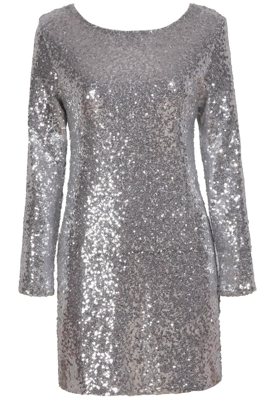 Dresses size bodycon silver plus long box