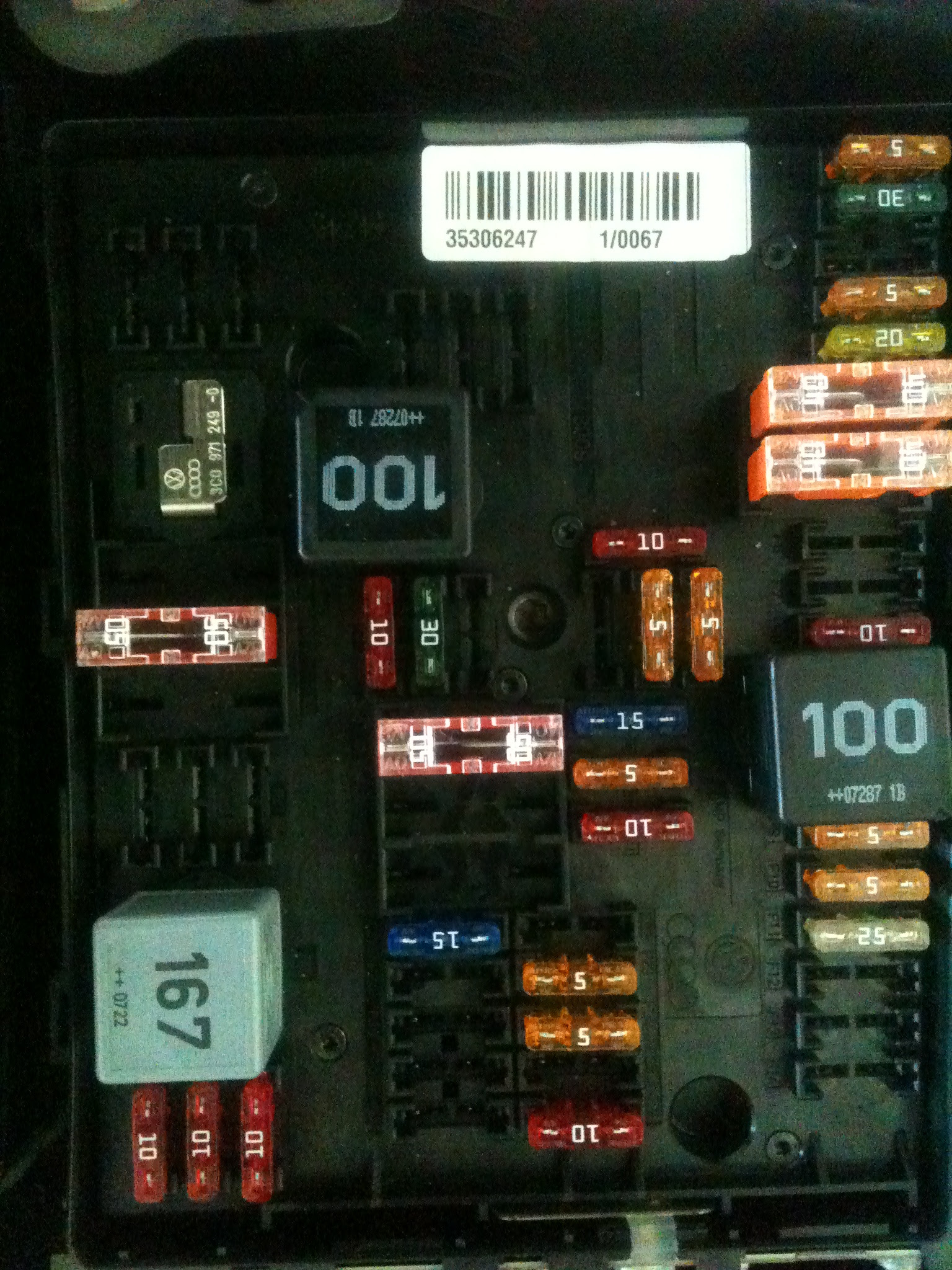 31 2008 Vw Eos Fuse Box Diagram