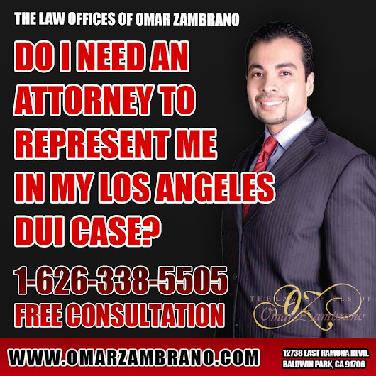 The Law Offices of Omar Zambrano - Call for a Free Consultation — Do I need an attorney to represent me in my Los...