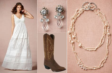 Ask Maggie: Wedding Dress With Cowboy Boots   Rustic