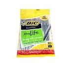BIC Round Stic Xtra Life - Ballpoint pen - black - 1 mm - medium - pack of 10
