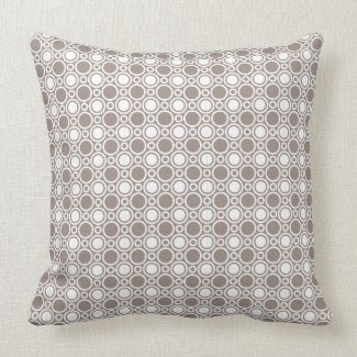 Heathered Polka Dot Pattern Pillow throwpillow