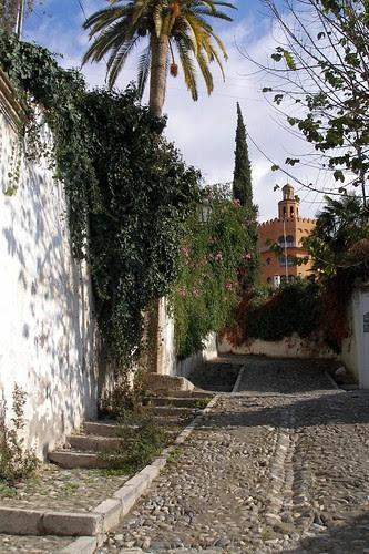 "Subida al Hotel ""Alhambra Palace"""