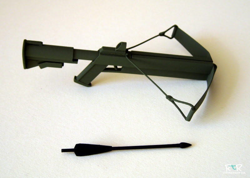 toy wooden crossbow