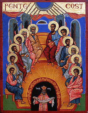 Icon of the Pentecost