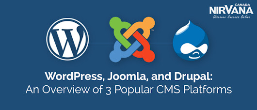 WordPress, Joomla, and Drupal: An Overview of 3 Popular CMS Platforms | Website Design and Internet Marketing Consulting