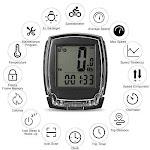Blusea Wireless Bike Computer Speedometer Digital Bicycle Odometer
