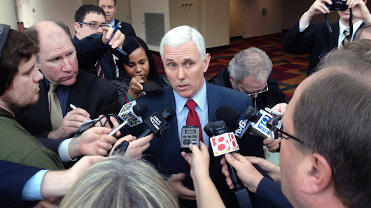 Gov. Pence ditches state-run news site plan after uproar