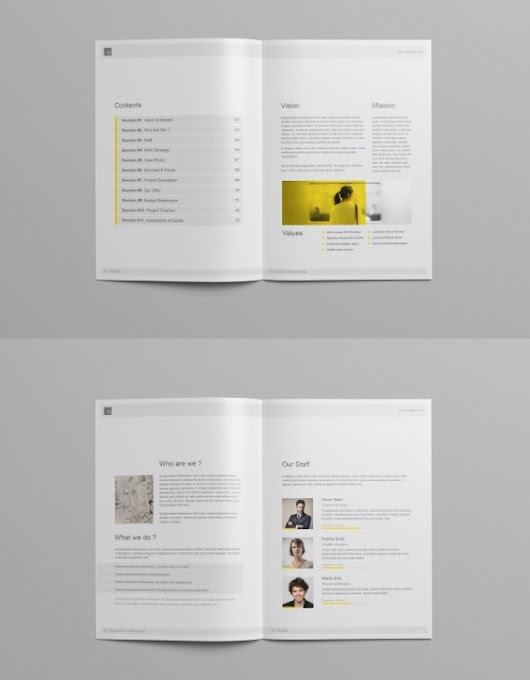 48+ Best Business Proposal Templates in InDesign PSD & MS Word | PSDTemplatesBlog